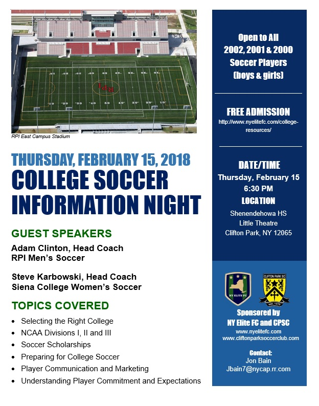 NYEFCCPSCCollegeSoccerInfoNight2017
