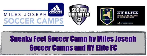 Sneaky Feet Soccer Camp by Miles Joseph Soccer Camps and NY Elite FC