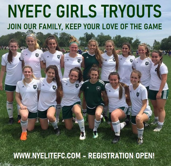 NYEFC GIRLS 2021 TRYOUTS