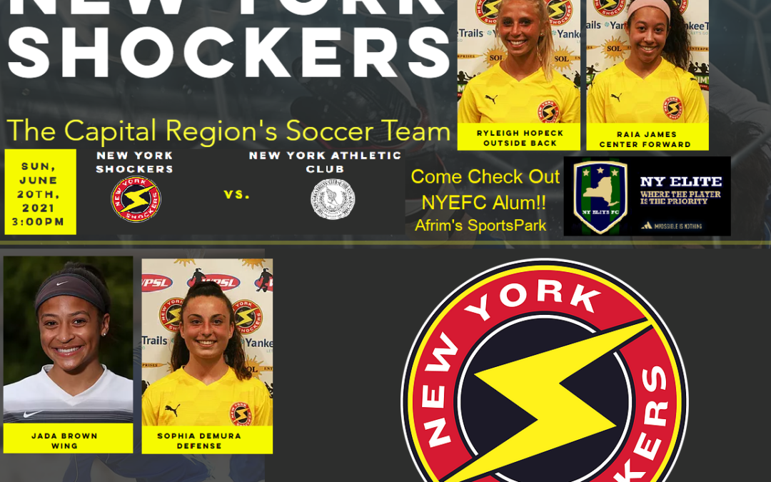 PROUD OF OUR NY ELITE FC GIRLS ELECTRIFYING THE WPSL